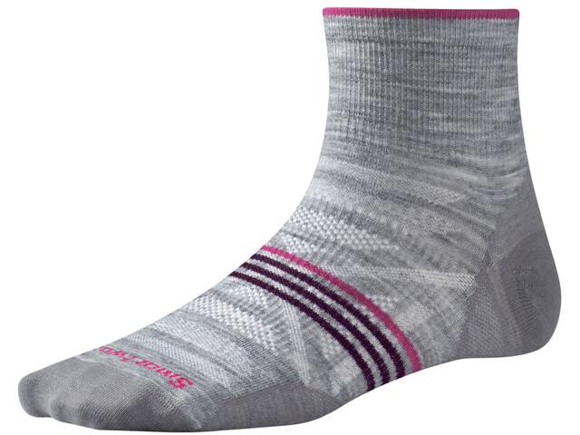 Smartwool W's PhD Outdoor UL Mini Socks Lt Grey